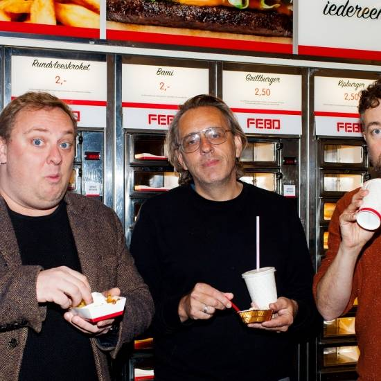 Marcel van Roosmalen, Roelof de Vries & Jan Dirk van der Burg