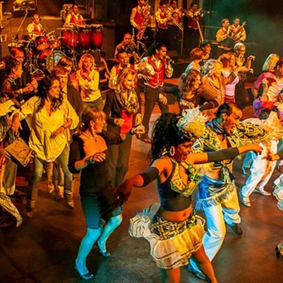 Diverse Cubaanse artiesten