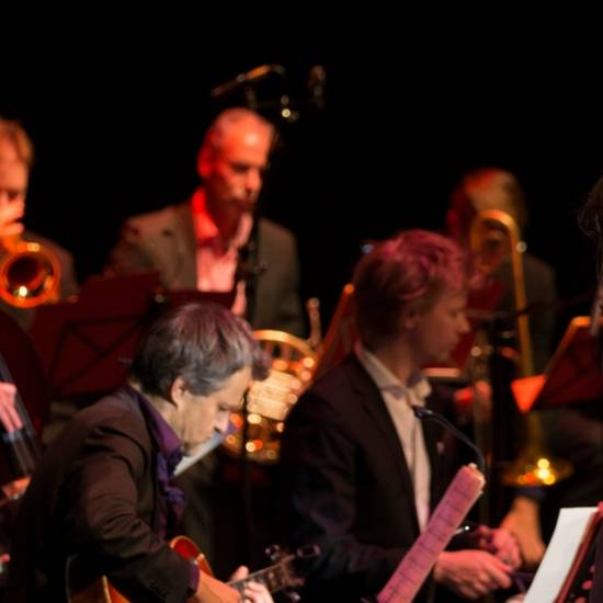 Konrad Koselleck Big Band met Vincent Bijlo & Ellen ten Damme