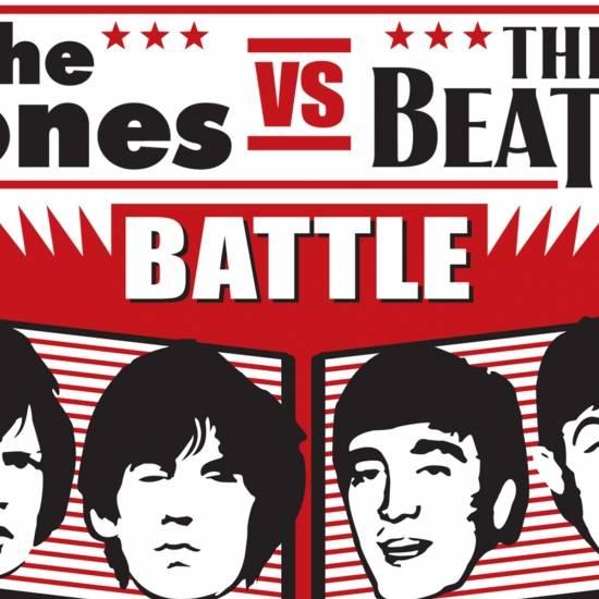 The Stones vs the Beatles