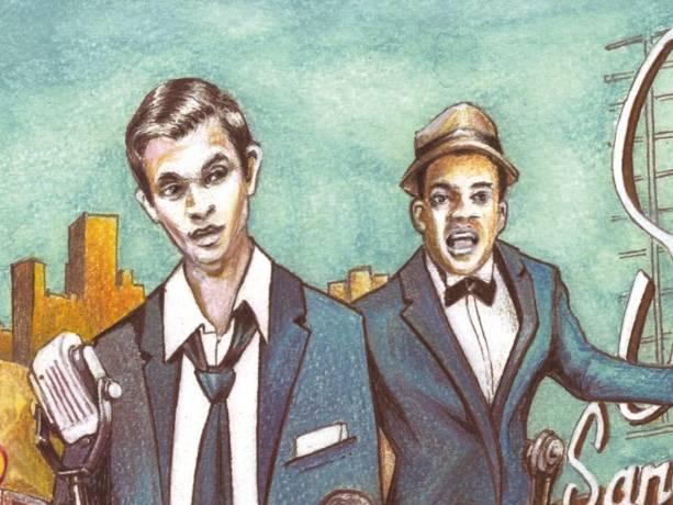 Crooners Night Club: Sinatra, Sammy Davis Jr, e.a.